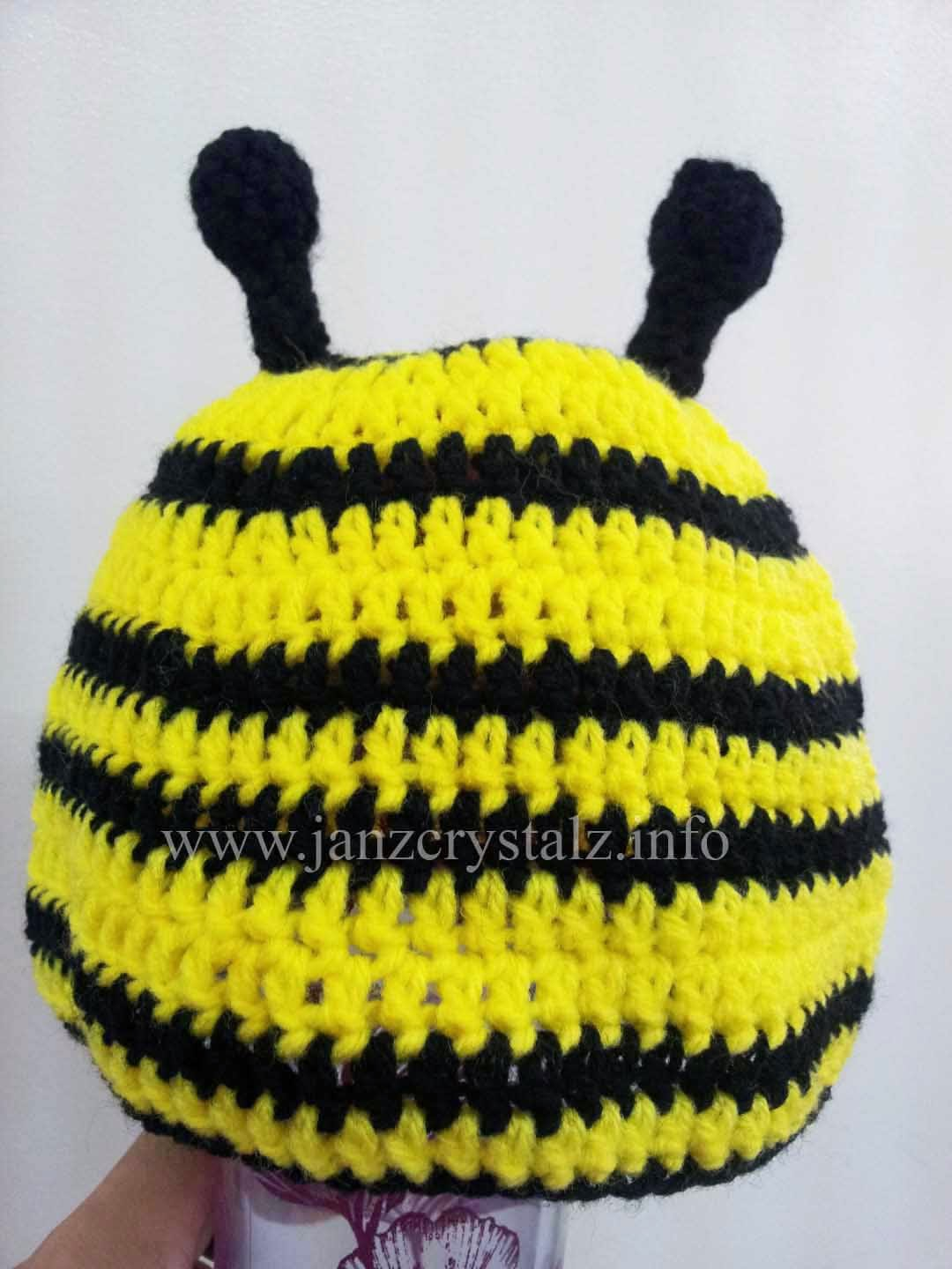 Summary Crochet Bumble Bee Hat And Tushie Cover Pattern Repeat