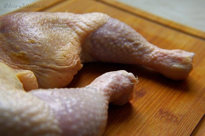 Huhn für Möhrentopf