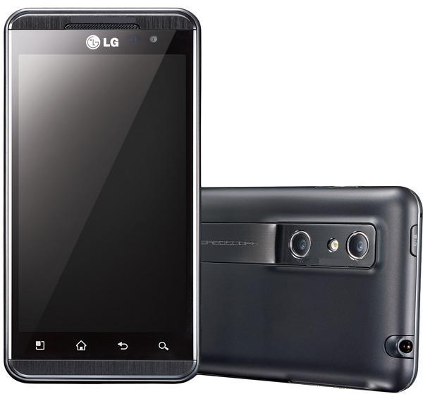 LG Optimus 3D P920 Touchscreen Mobile With 5 Mega Pixel ...