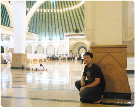 Muhammad Ali Mudzofar di Masjid Agung Jawa Tengah
