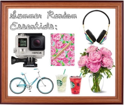Random summer essentials, summer break must haves, Lauren Banawa