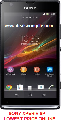 Sony Xperia™ SP at just Rs.12,999/-