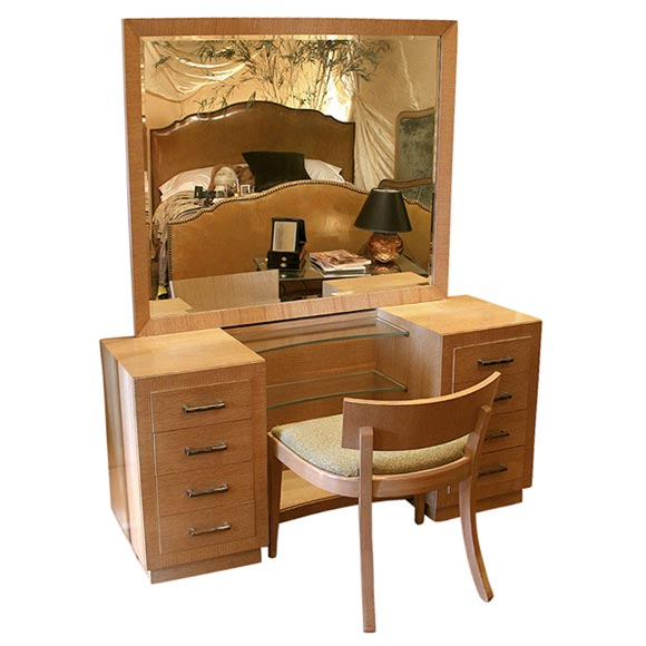 Modern dressing table furniture designs an interior design for Furniture table design examples