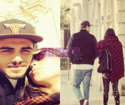 Cecilia e Francesco bacio