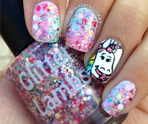 Unicorns Love Cotton Candy Nail Polish