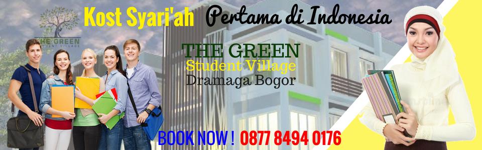 Rumah Kost Syariah Student Village Bogor