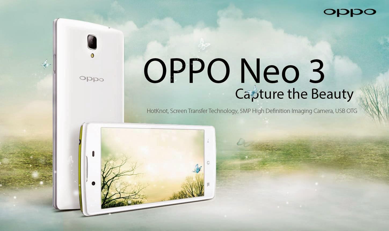 Spesifikasi Dan Harga Baru Oppo Neo 3 R831K