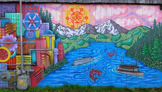 Ballard Grill & Alehouse Mural