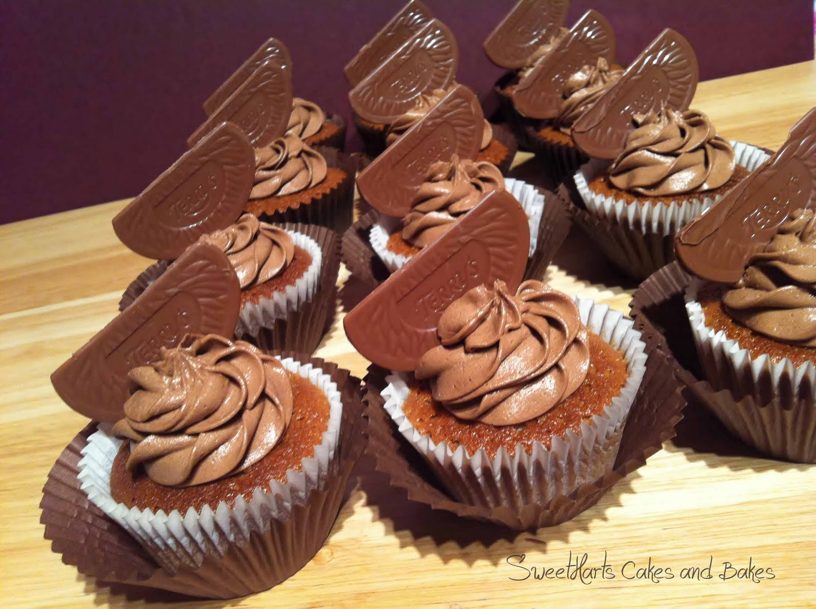 Sweetharts Cakes and Bakes: Chocolate Orange Cupcakes....a big hit!