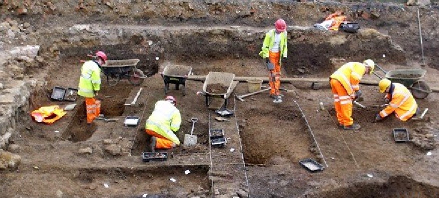Northampton Project Angel reveals town's medieval past