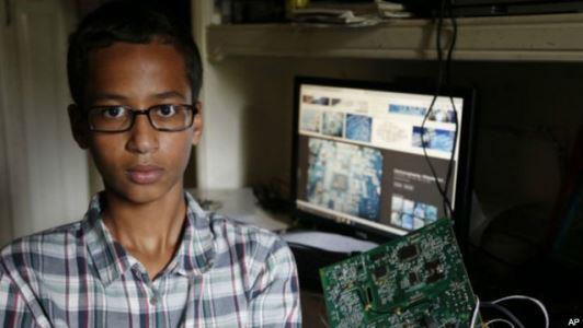Ahmed Mohamed di Undang Obama Ke Gedung Putih