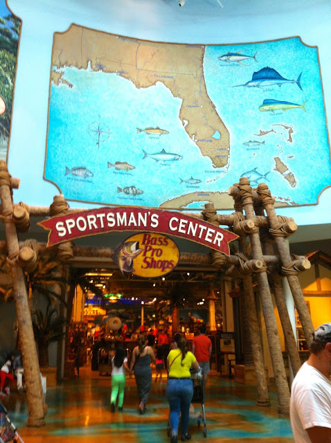 Loja Bass Pro Shops no Dolphin Mall