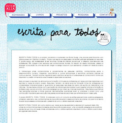 Materiais Educativos do Projeto Escrita para Todos