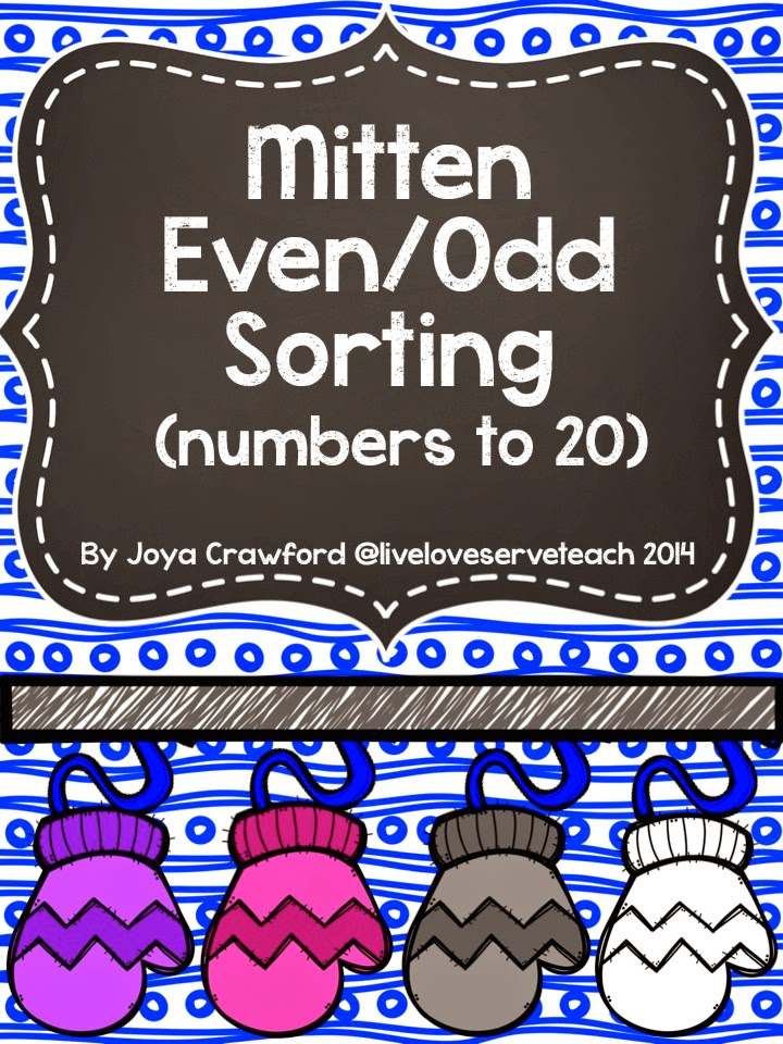 http://www.teacherspayteachers.com/Product/Winter-Mitten-Even-and-Odd-Sorting-Numbers-to-20-1622202