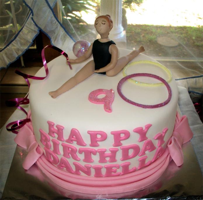 Delana S Cakes Gymnastics Cake