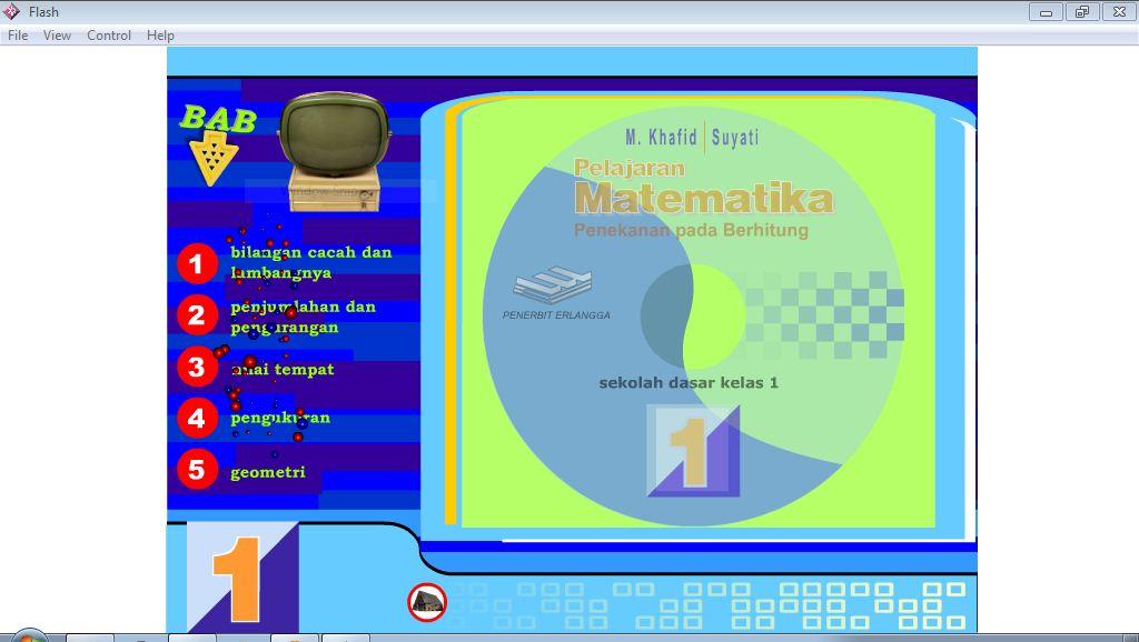 Cd Pembelajaran Interaktif Matematika Kelas 1