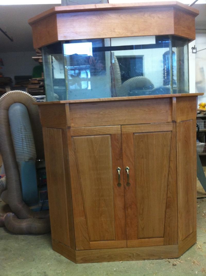 Idvw Design My First Hexagonal Aquarium Cabinet Amp Canopy