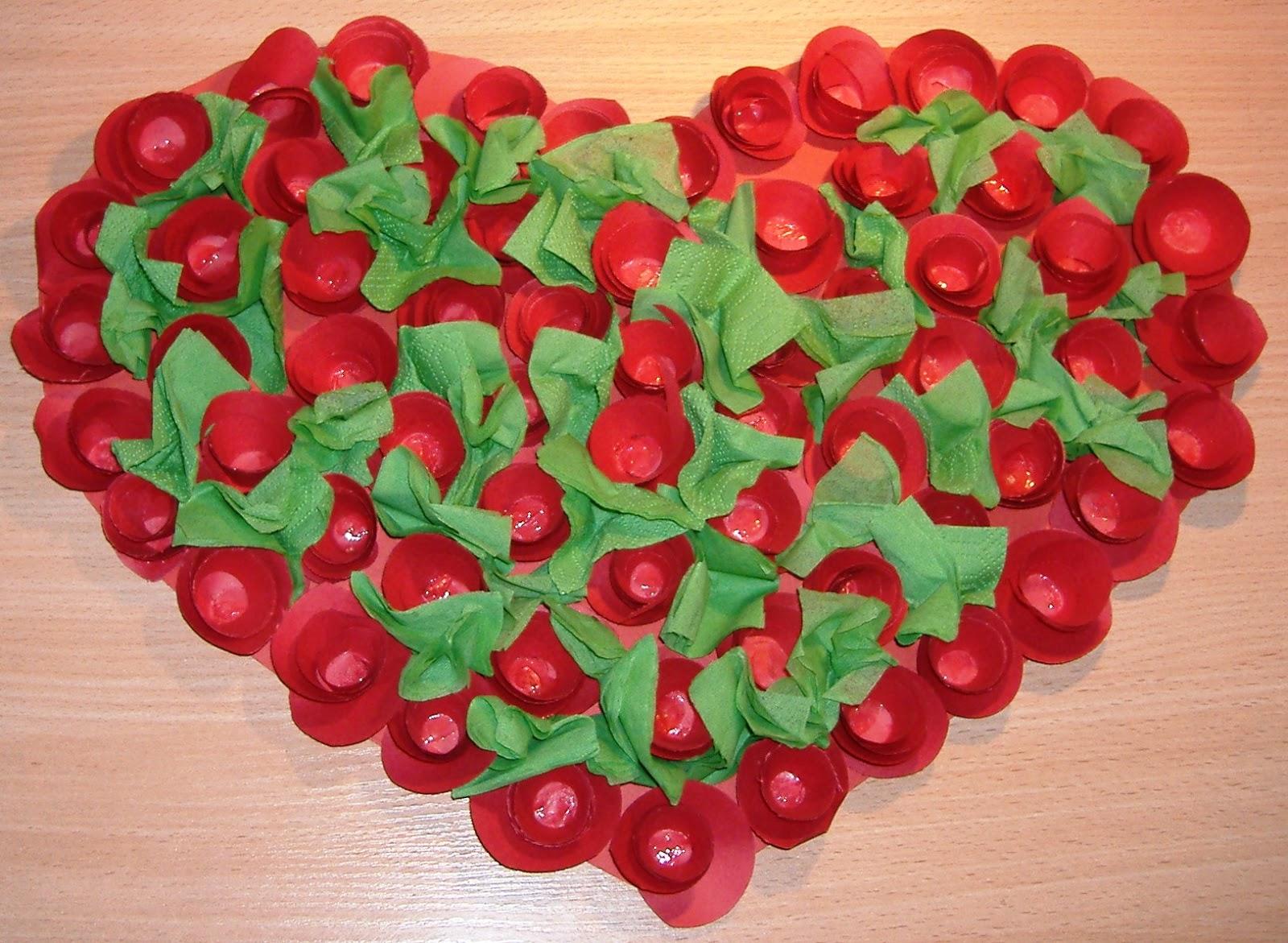 Papierkowa Strona Dobrosławy Walentynkowe Serca