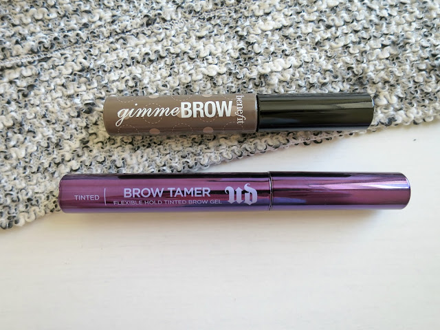 Benefit Gimme Brow vs Urban Decay Brow Tamer Eyebrow Mascara