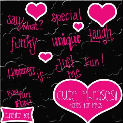 Cute Phrases