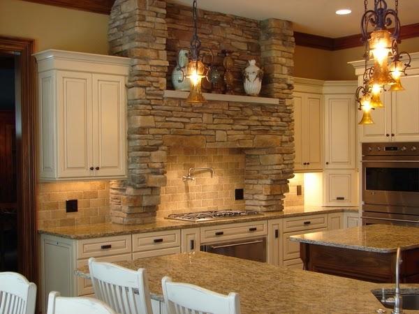 Conseils d co et relooking santa cecilia comptoirs de granit pour une cuisine fra che et moderne for Peinture granit