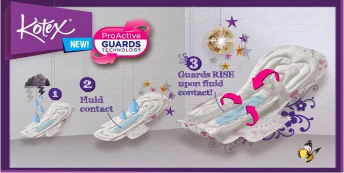 kotex  free proactive guard samples giveaway