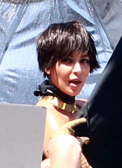 Short Hair Kim Kardashian - New Kim Hairstyle