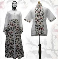 baju gamis batik 2012