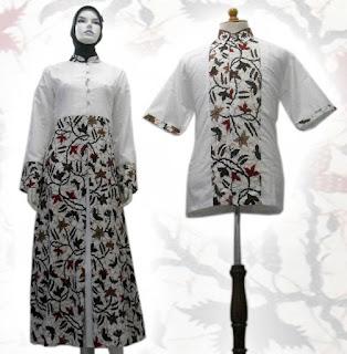 baju gamis batik 2013