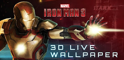 Iron Man 3D Live Wallpaper (Premium) .APK 1.0 Android [Full] [Gratis]