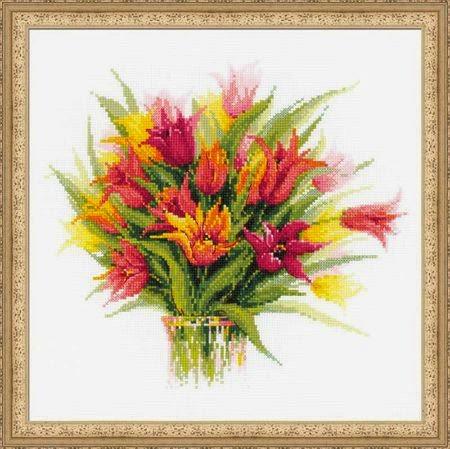 Вышивка тюльпан от риолис 883