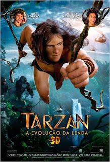 """Poster do filme: """"Tarzan - A Evolução da Lenda"""""""