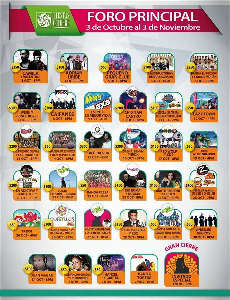 teatro del pueblo fiestas de octubre 2014 programa