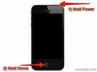 Procedura hard reset iPhone non si accende