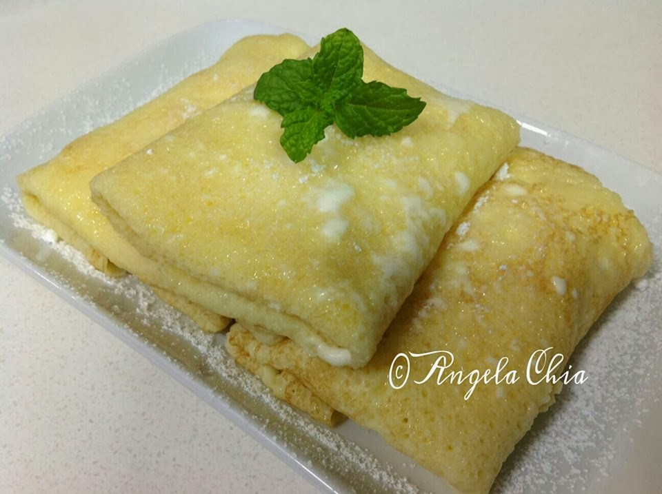 Angela Chia: Banana Crepe with Ice-Cream