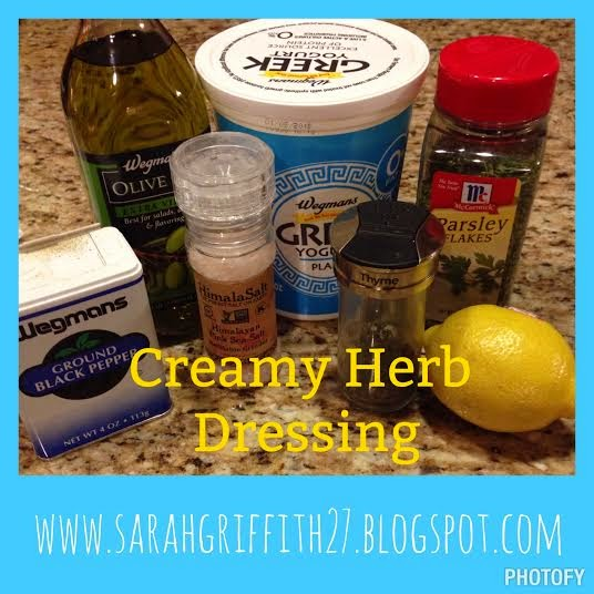 Sarah Griffith - : Creamy Herb Dressing