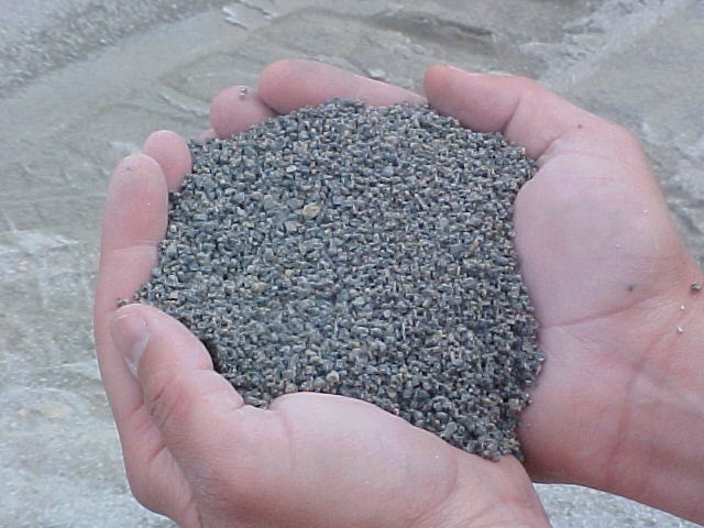how to clean aggregate concrete