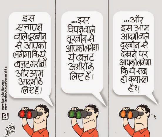budget cartoon, nda government, common man cartoon, cartoons on politics, indian political cartoon