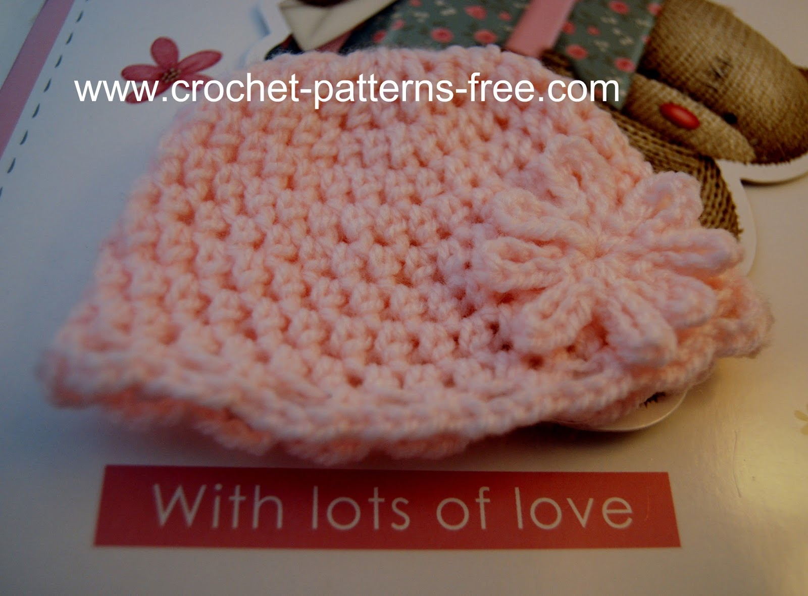 Crochet Newborn Baby Cardigan Pattern : FREE PATTERNS FOR CROCHET BABY HATS