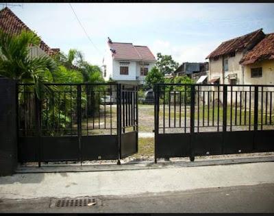 pagar lipat rumah minimalis