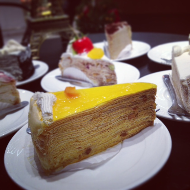 MILLE CREPE CAKE PARADIGM MALL VANILLA CAKES FRENCH