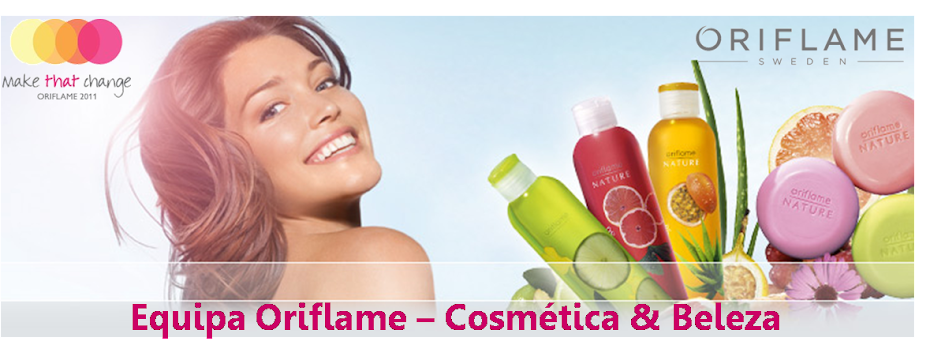 Equipa Oriflame - Cosmtica e Beleza