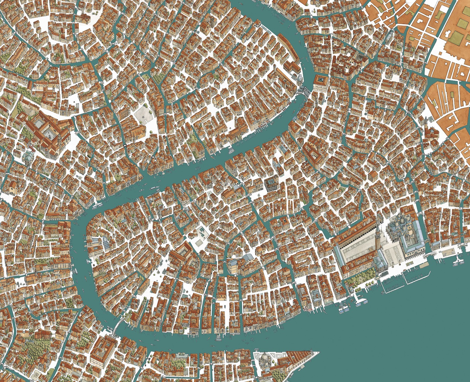map of venice italy pdf