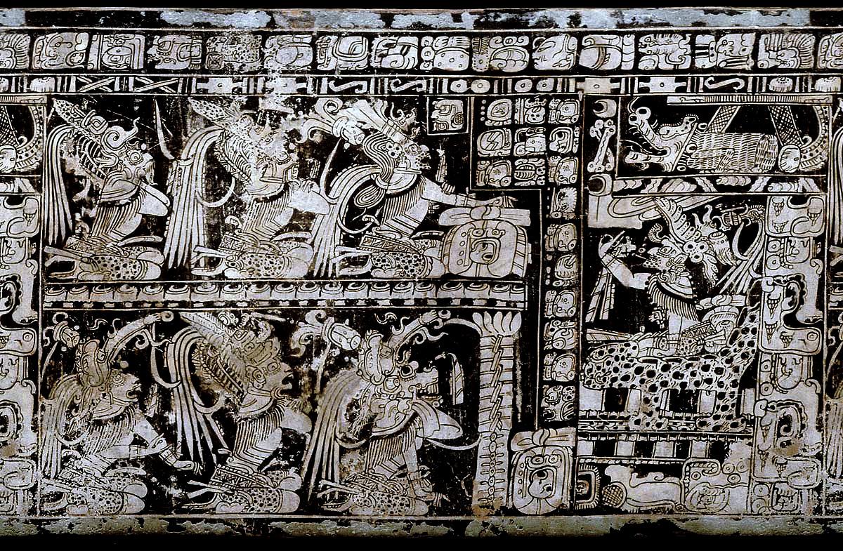 Dioses Mayas Aparecen Siete Seis Se
