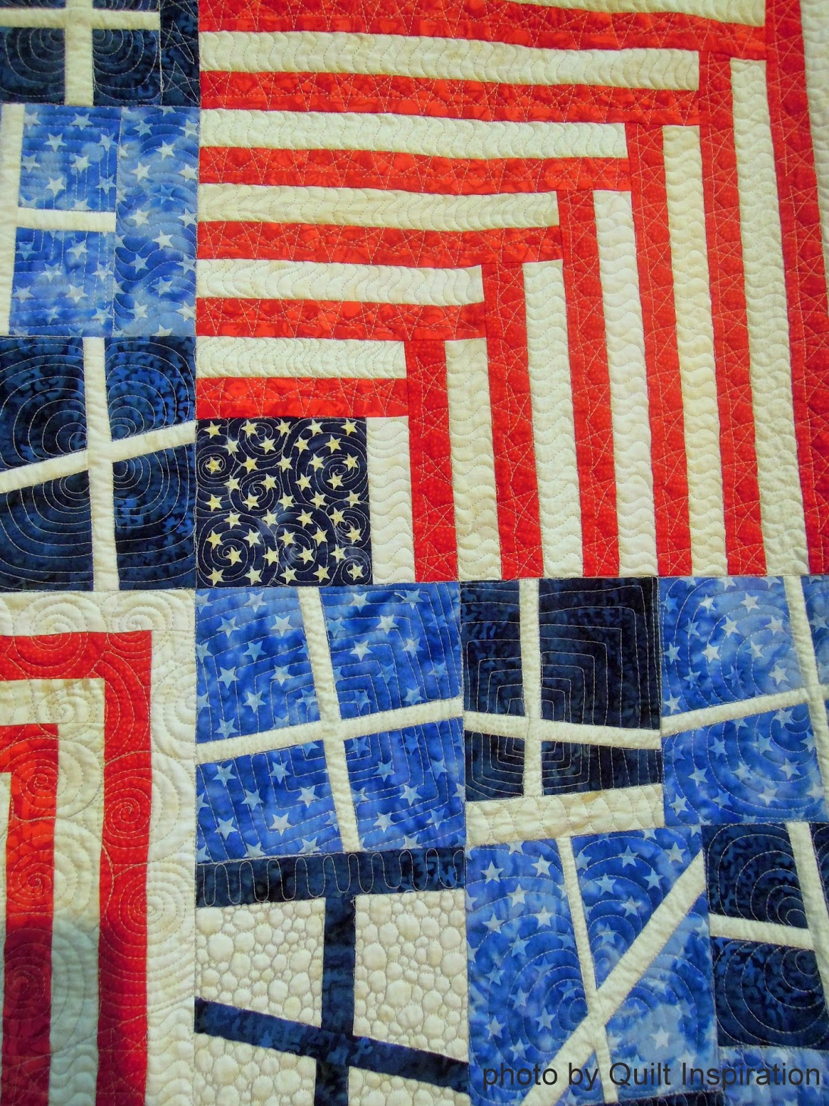 Quilt Inspiration: Quilted in Honor : Veterans Day