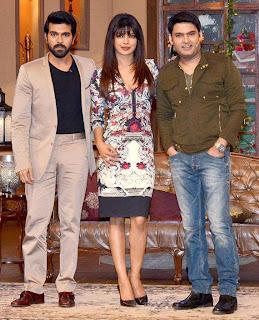 Priyanka & Ram Charan promotes 'Zanjeer' on Comedy Nights With Kapil