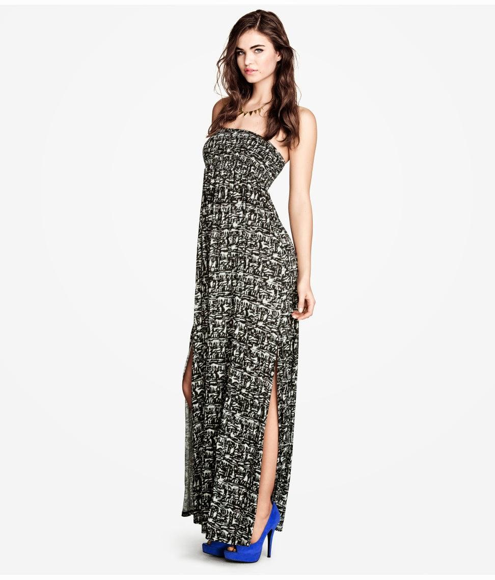 maksi+elbise+y%C4%B1rtma%C3%A7l%C4%B1 H & M 2014 Sommer Kleidung Models