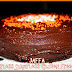 Whole Orange Flourless Sugarless Gluten-Free Cake with a Jaffa Twist