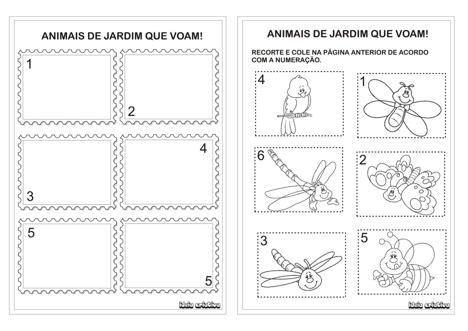 Atividade Cores E Formas Atividade Numerais De 1 A 5 Educacao Infantil