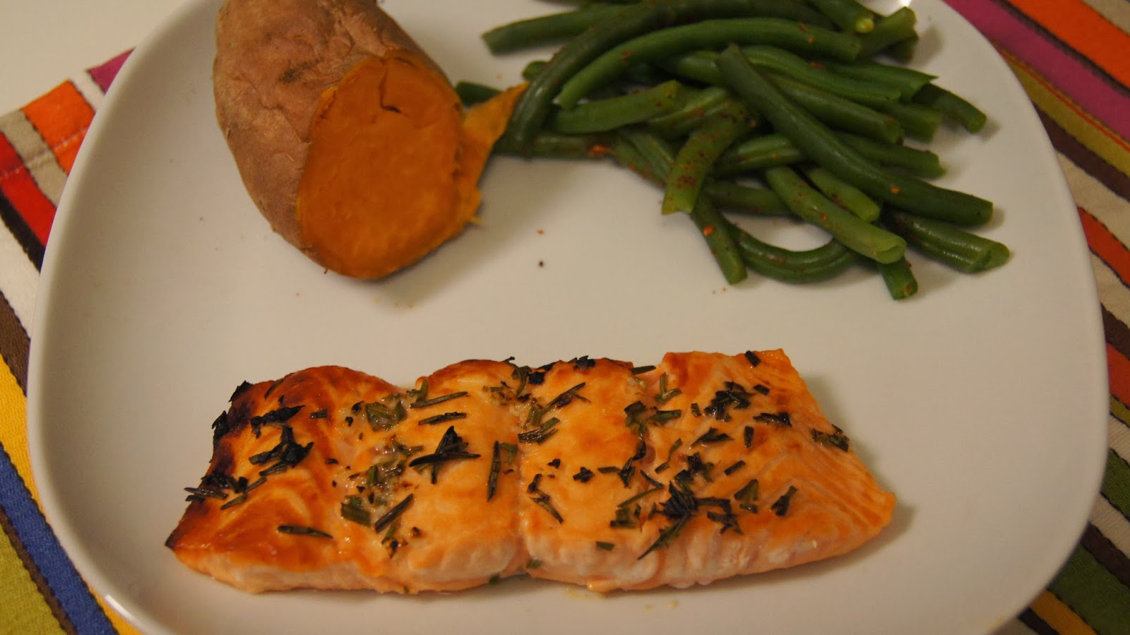 Elizabeth's Dutch Oven: Broiled Salmon with Rosemary